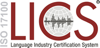 Translation Service Industry Certification Logo