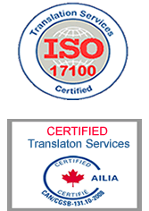 ISO 17100 Certification